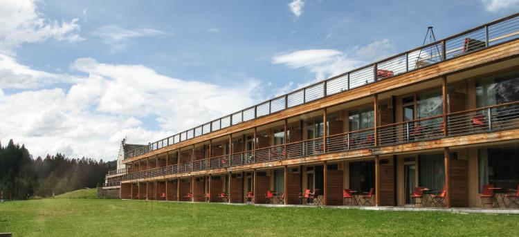 Kranzbach Neubau Holz