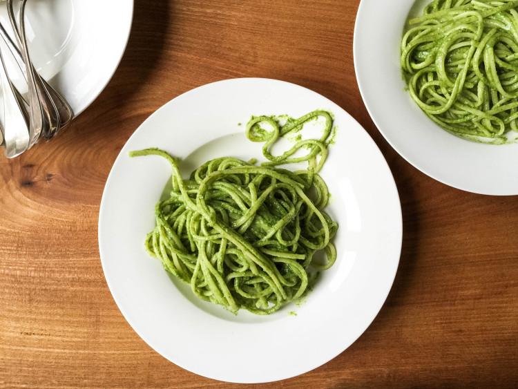 Pasta mit Estragon Pesto