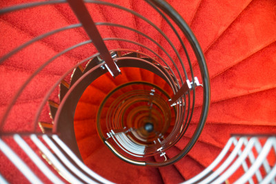 Derag Livinghotel Muenchen Treppe von oben