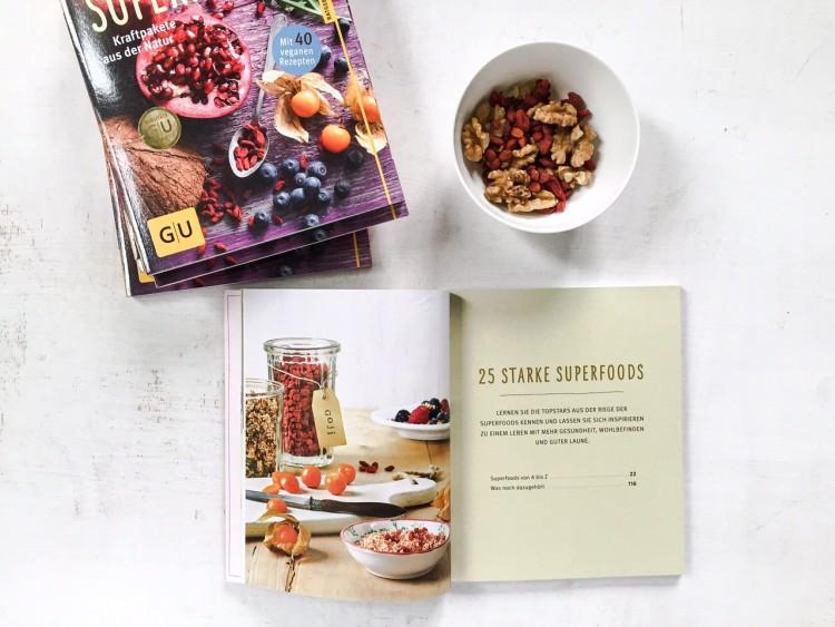 Superfoods Gesundheitsratgeber GU Verlag Innenseite 2