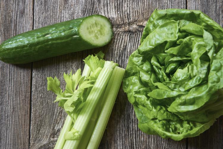 Salat Gurke Sellerie Detox