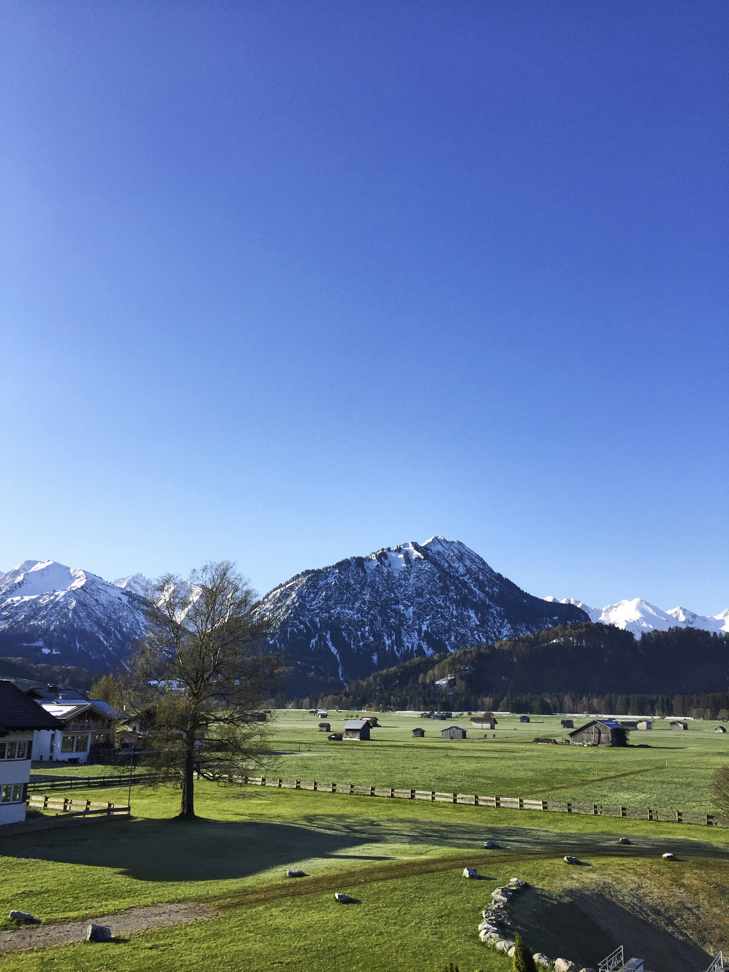 Berge in Bayern bei Oberstdorf