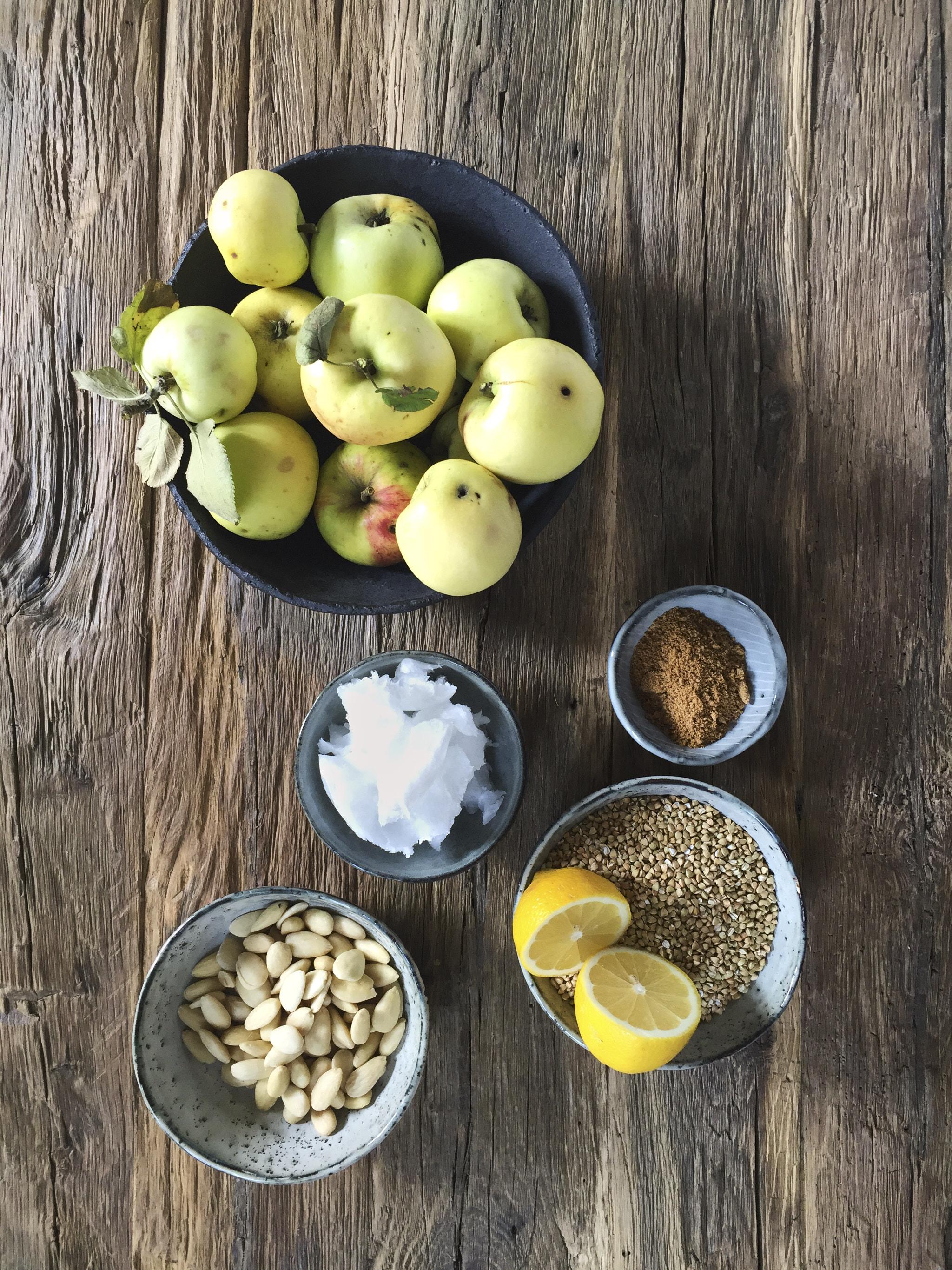 apfelkuchen-vegan-zutaten